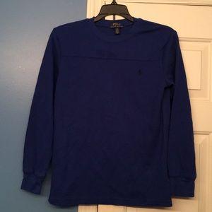 Long sleeved shirt boys L (14-16)